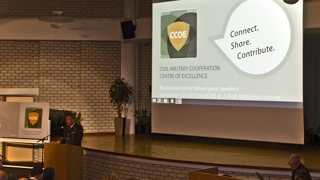 """Connect. Share. Contribute."" First CCOE Community of Interest Workshop in The Hague"