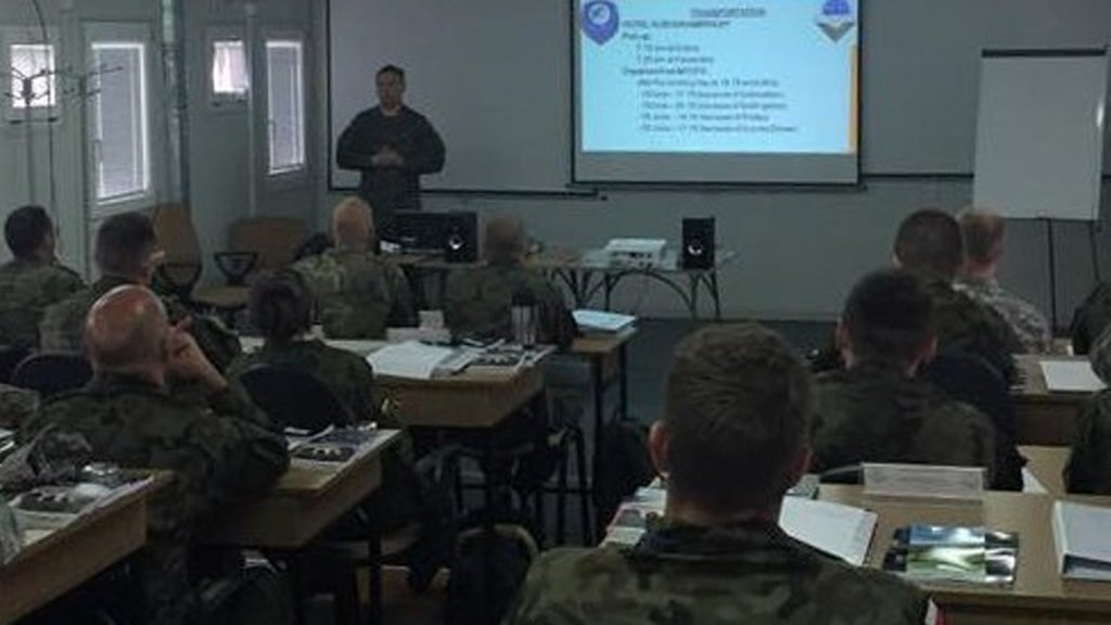 NATO CIMIC Field and Staff Workers Course in Poland