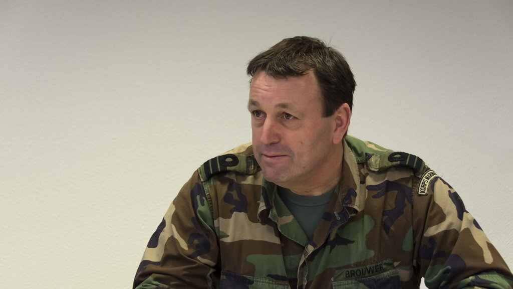 NEW DUTCH LIEUTENANT COLONEL TAKES THE LEAD OF THE TRAINING & EDUCATION BRANCH