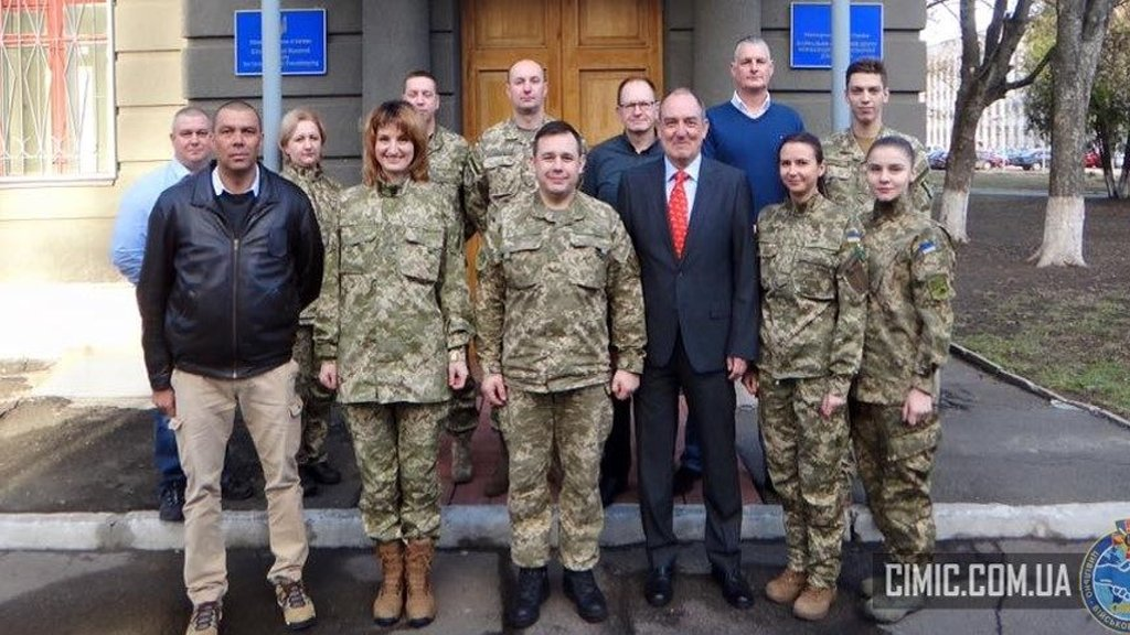 Supporting CIMIC training in Ukraine