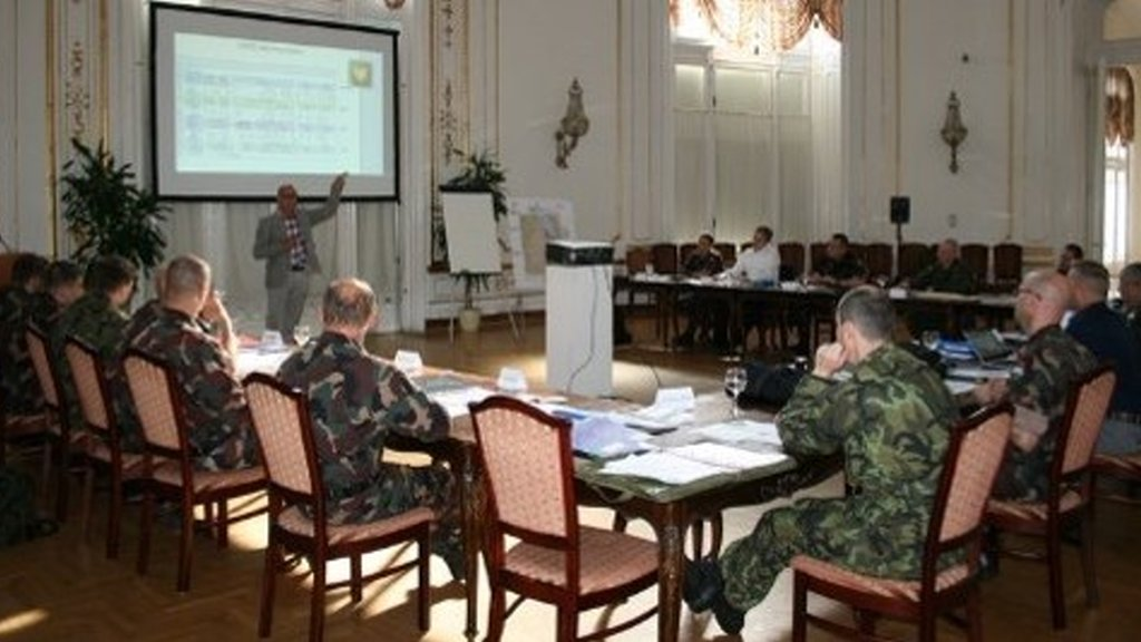 Tailor made – CIMIC Seminar for EU Battle Group