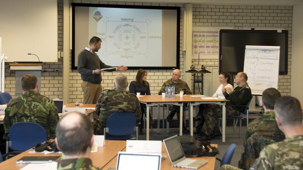 FIRST NATO CIMIC LIAISON COURSE IN 2015