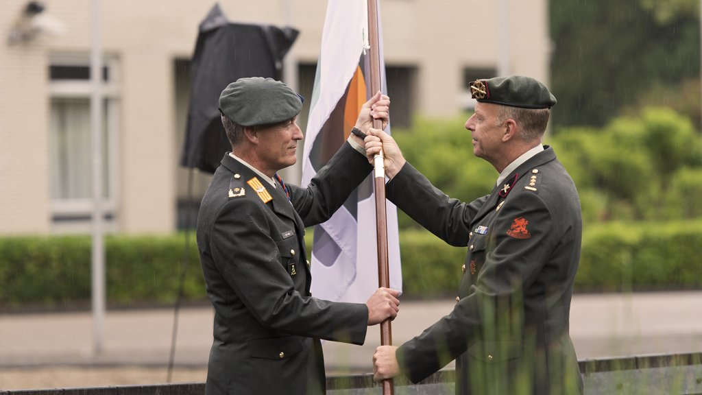 The Command of the CCoE has changed: Colonel Paulik is back as the new Director