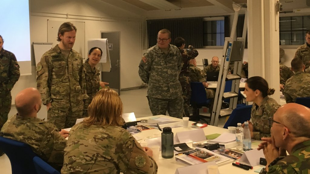 Denmark: First CIMIC Satellite Courses from CCOE in Varde