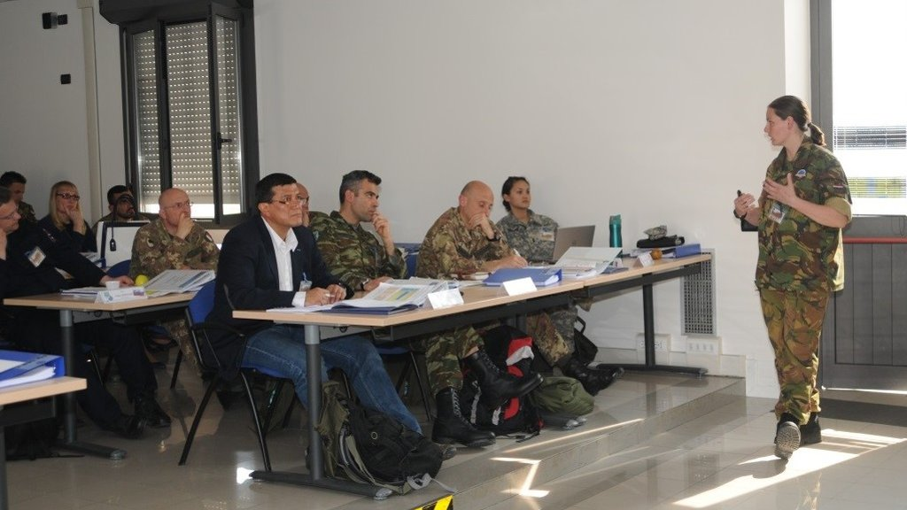 Start of NATO CIMIC Courses in Italy, supported by the CCOE