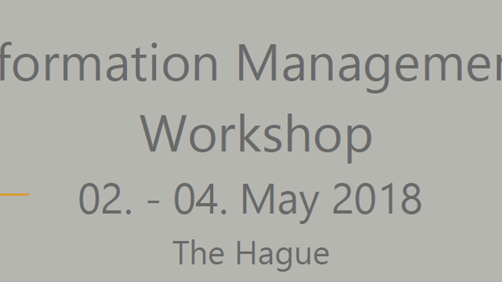 CIMIC Information Management Systems Workshop