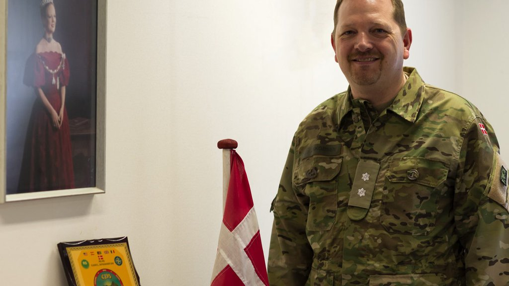 New Danish Lieutenant Colonel takes the lead of the Lessons Learned Branch